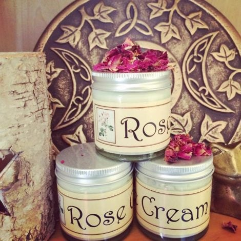 Tub of Rose Cream