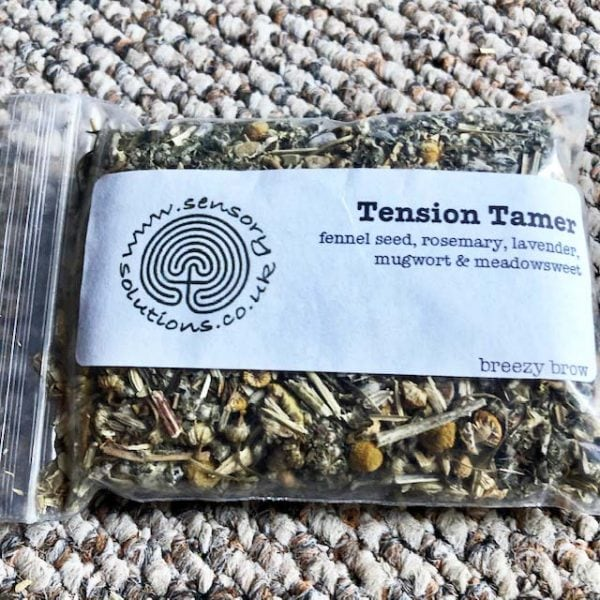 Tension Tamer Mugwort Meadowsweet Tea
