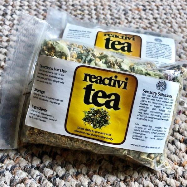 Reactivi Chamomile Elderflower Tea